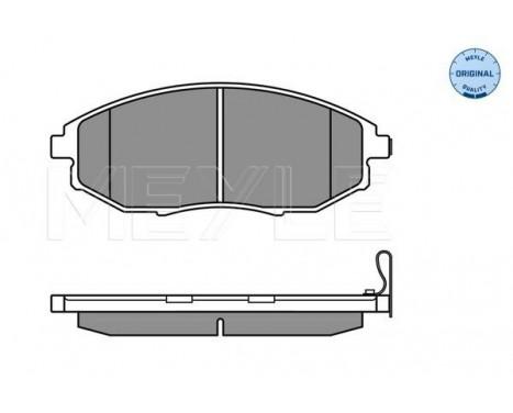 Brake Pad Set, disc brake MEYLE-ORIGINAL Quality, Image 3