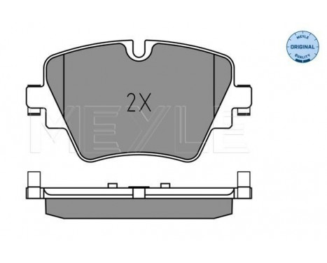 Brake Pad Set, disc brake MEYLE-ORIGINAL Quality, Image 2