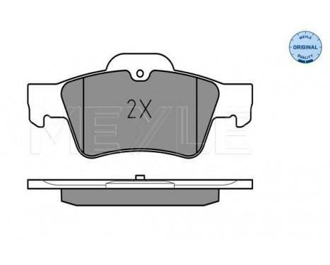 Brake Pad Set, disc brake MEYLE-ORIGINAL Quality, Image 2