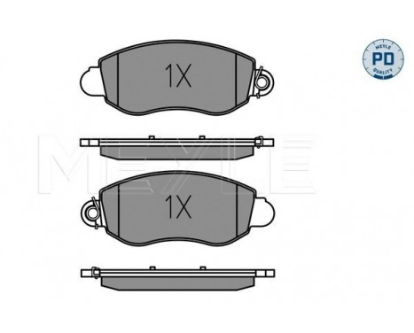 Brake Pad Set, disc brake MEYLE-PD Quality, Image 2