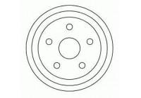 Brake Drum 5123-S ABS