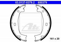 Brake Shoe Set, parking brake 03.0137-0379.2 ATE