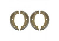 Brake Shoe Set, parking brake 18536 FEBI