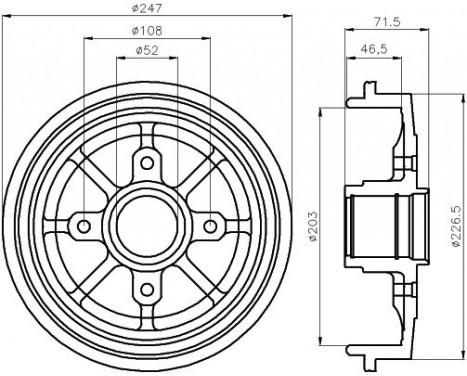5 Blade Relay Wiring Diagram Schematic