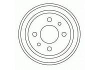 Brake Drum 3226-S ABS