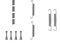 Accessory Kit, parking brake shoes 0621Q ABS