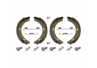 Brake Shoe Set, parking brake 02100 FEBI