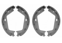 Brake Shoe Set, parking brake 22154 FEBI