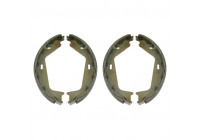 Brake Shoe Set, parking brake 22154 FEBI