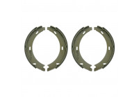 Brake Shoe Set, parking brake 26150 FEBI