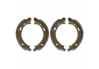 Brake Shoe Set, parking brake ADA104115 Blue Print