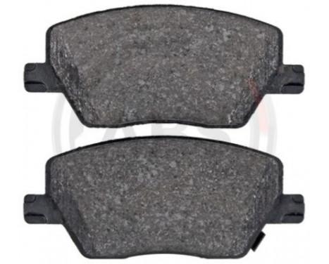 Bromsbeläggssats, skivbroms 35150 ABS