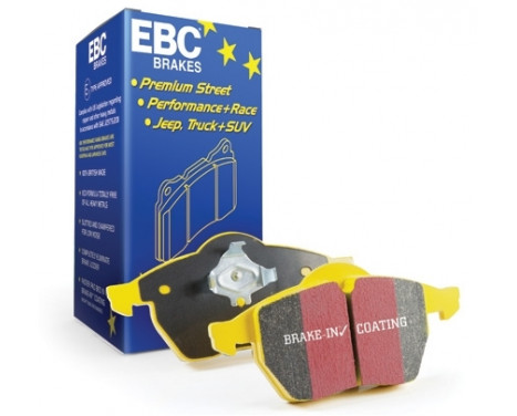 Ställ in EBC Yellowstuff-bromsklossuppsättningen
