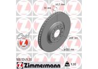 Bromsskiva COAT Z 100.1249.20 Zimmermann
