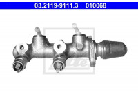 Huvudbromscylinder 03.2119-9111.3 ATE
