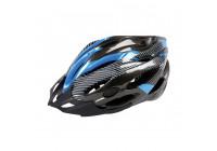 Mirage Helm Allround L Zwart/Blauw 58-62