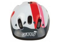 Polisport Fietshelm Guppy 44/48cm roze/wit