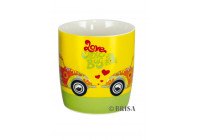 VW BEETLE MUG - FLOWER