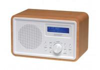 DAB-35 - DAB+/FM-RADIO - HOUTEN BEHUIZING