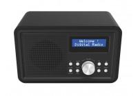 DAB-35BLACK - DAB+/FM-RADIO - HOUTEN BEHUIZING - ZWART