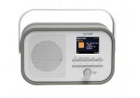 DAB-40GREY - DAB+/FM-RADIO MET DAB-SLIDESHOW - GRIJS