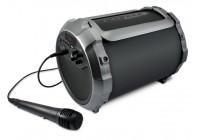 Draagbare Bluetooth® tube luidspreker met ingebouwde batterij en 'Sing-Along' optie
