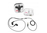Stereo koptelefoon oordoppen