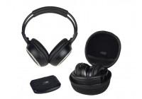 UHF draadloze hi-fi stereo hoofdtelefoon en transmitter