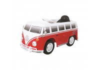 Accu Auto Volkswagen Bus Rood/Wit