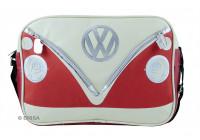 VW T1 schoudertas - large rood