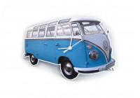 VW T1 Wandklok - CLASSIC BLUE