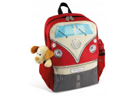 VW T1 Rugzak Rood -small -