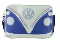 VW T1 schoudertas - large blauw