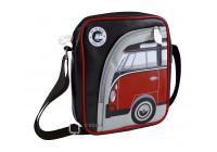 VW T1 schoudertas - rood / zwart