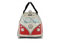 VW T1 sporttas - rood / wit