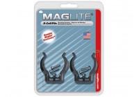 MAGLITE - WANDKLEMMEN VOOR ML/MAG-CHARGER/2D/3D - 2 st.