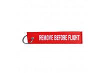 Simoni Racing Sleutelhanger - Remove Before Flight - Rood