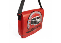 VW T1 DEKZEIL MESSENGER BAG - ROOD