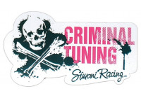 Simoni Racing Sticker 'Criminal Tuning' - 145x80mm
