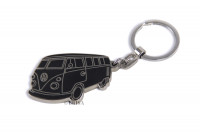 VW T1 Bus Key Ring, email, in blister verpakking - Silhouette BLACK