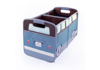 VW T1 Bus Opvouwbaar Storage Box - PETROL / BROWN