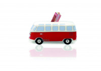 VW T1 spaarpot - CLASSIC RED