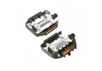Dresco Pedals MTB Metal Chrome / Black