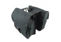Double bicycle bag black
