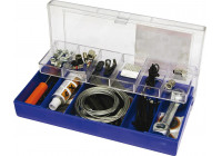 Bike repair kit, 66-piece
