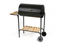 BARBECUE - WITH LID - CYLINDER FORM
