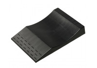 Plastic 'Anti-Flat-Tyres' parking bridge - black - set of 2 pieces