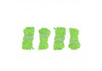 Shaving line set fluorescent