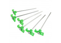 Tentharing 24cm with plastic hook glow-in-the-dark set of 6 pieces
