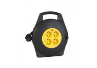 Cable reel 10m - 3g1.5 - 4 sockets